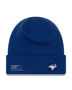 Toronto Blue Jays New Era 2018 MLB Official On-Field Sport Knit Wintermütze