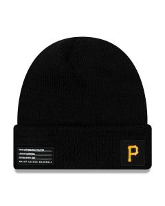 Pittsburgh Pirates New Era 2018 MLB Official On-Field Sport Knit zimska kapa