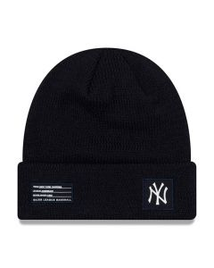 New York Yankees New Era 2018 MLB Official On-Field Sport Knit Wintermütze Navy