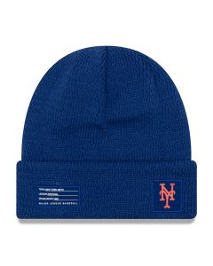 New York Mets New Era 2018 MLB Official On-Field Sport Knit zimska kapa