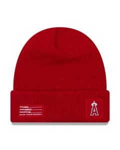 Los Angeles Angels New Era 2018 MLB Official On-Field Sport Knit zimska kapa