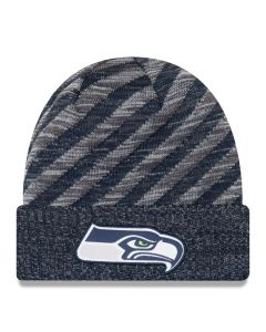 Seattle Seahawks New Era 2018 NFL Cold Weather TD Knit Wintermütze