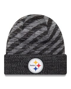 Pittsburgh Steelers New Era 2018 NFL Cold Weather TD Knit zimska kapa