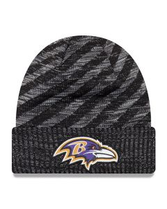 Baltimore Ravens New Era 2018 NFL Cold Weather TD Knit zimska kapa