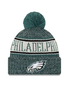 Philadelphia Eagles New Era 2018 NFL Cold Weather Sport Knit Wintermütze