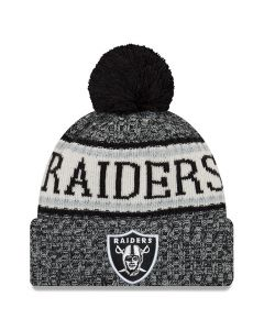 Oakland Raiders New Era 2018 NFL Cold Weather Sport Knit zimska kapa