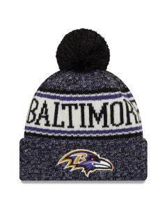 Baltimore Ravens New Era 2018 NFL Cold Weather Sport Knit zimska kapa