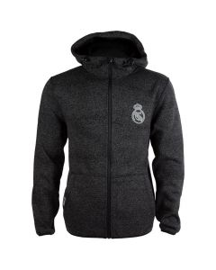 Real Madrid flis Zip Kapuzenjacke N°3