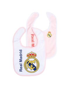 Real Madrid 2x Lätzchen rosa