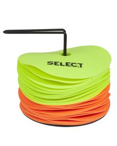 Select ploščati markirni klobučki 24 kos