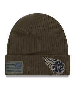 Tennessee Titans New Era 2018 Salute To Service Sideline Cuff zimska kapa
