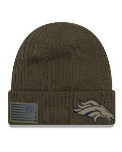 Denver Broncos New Era 2018 Salute To Service Sideline Cuff zimska kapa