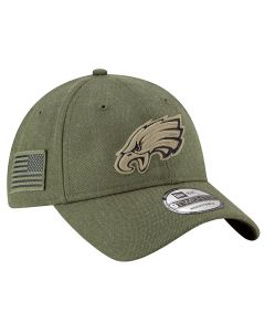 Philadelphia Eagles New Era 9TWENTY 2018 Salute To Service Sideline kapa