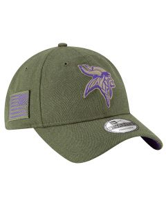Minnesota Vikings New Era 9TWENTY 2018 Salute To Service Sideline kapa