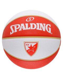 KK Crvena Zvezda Spalding košarkaška lopta
