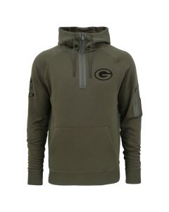Green Bay Packers New Era Camo Collection Zip Kapuzenpullover