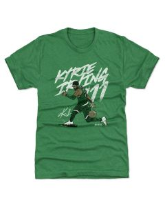 Kyrie Irving 500 Level Handles W Heather Kelly Green T-Shirt