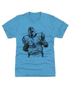Cam Newton 500 Level Sketch L Tri Turquoise T-Shirt
