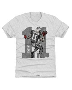 Julian Edelman 500 Level Sketch 11 S Tri Ash T-Shirt