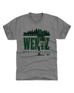 Carson Wentz 500 Level Wentzzylvania G Tri Gray T-Shirt