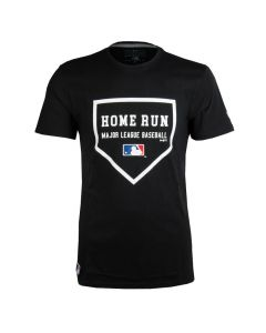 MLB Logo New Era League Slogan T-Shirt