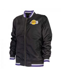 Los Angeles Lakers New Era Team Apparel Varsity Jacke