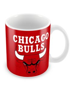 Chicago Bulls Team Logo šalica