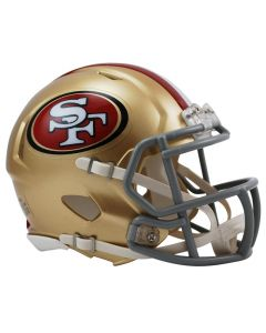 San Francisco 49ers Riddell Speed Mini čelada