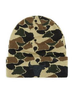Chicago Bulls New Era Cuff Marine Navy Camo Wintermütze