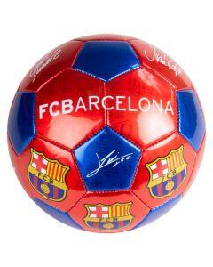 FC Barcelona lopta sa potpisom