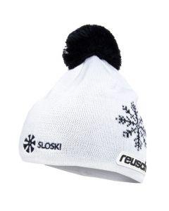 Sloski Reusch '18 zimska kapa Alpine bela