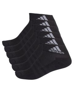 Adidas 3S 6x Ancle kurze Sportsocken schwarz