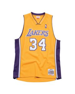 Shaquille O'Neal 34 Los Angeles Lakers 1999-00 Mitchell & Ness Swingman Trikot