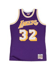 Magic Johnson 32 Los Angeles Lakers 1984-85 Mitchell & Ness Swingman Trikot