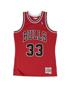 Scottie Pippen 33 Chicago Bulls 1997-98 Mitchell & Ness Swingman dres