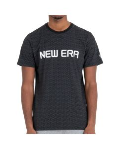 New Era Rain Camo Black T-Shirt