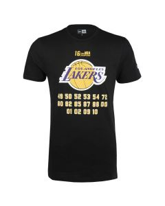Los Angeles Lakers New Era Team Champion T-Shirt