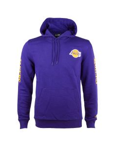 Los Angeles Lakers New Era Sleeve Wordmark Kapuzenpullover Hoody