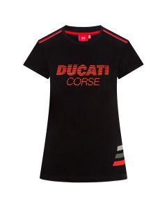 Ducati Corse Striped Damen T-Shirt