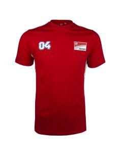 Andrea Dovizioso AD04 Ducati Corse Contrast T-Shirt