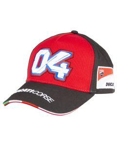 Andrea Dovizioso AD04 Ducati Corse Mütze