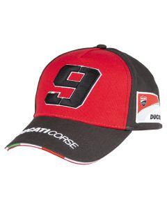 Danilo Petrucci DP9 Ducati Corse kapa