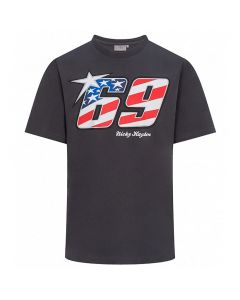 Nicky Hayden NH69 USA Flag T-Shirt
