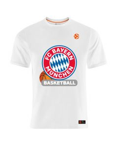 FC Bayern München Basketball Euroleague T-Shirt
