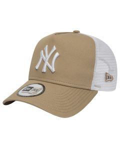 New York Yankees New Era Trucker League Essential A Frame Mütze