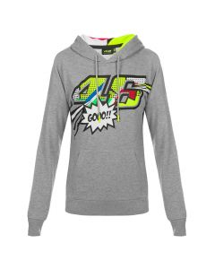 Valentino Rossi VR46 Pop Art ženski pulover sa kapuljačom