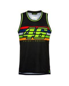 Valentino Rossi VR46 Stripes Tank Top T-Shirt ärmellos