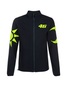 Valentino Rossi VR46 Sun and Moon Softshell Jacke