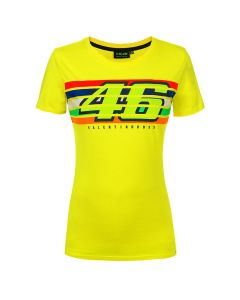 Valentino Rossi VR46 Stripes Damen T-Shirt