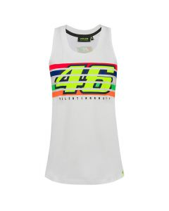 Valentino Rossi VR46 Stripes Tank Top Damen T-Shirt ärmellos